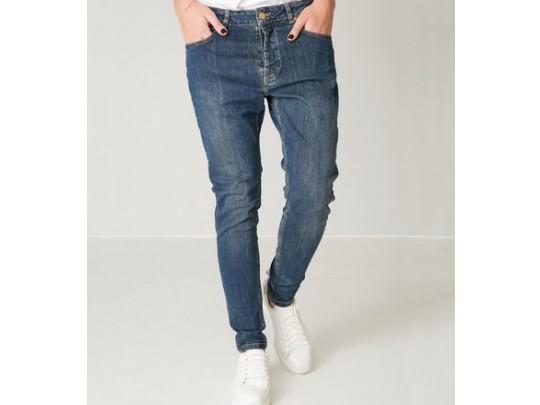 Blå Line Of Oslo Jeans New Lindsey Denim