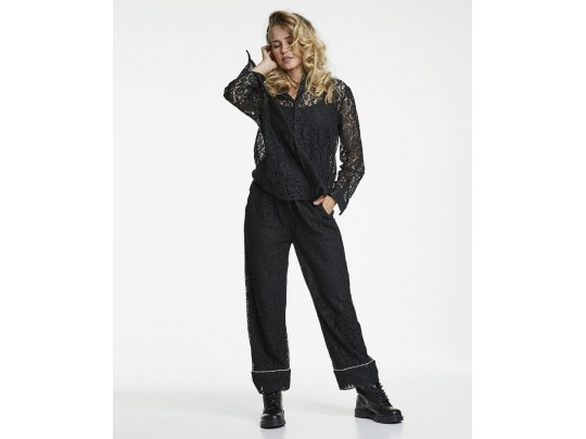 Ines Lace Black