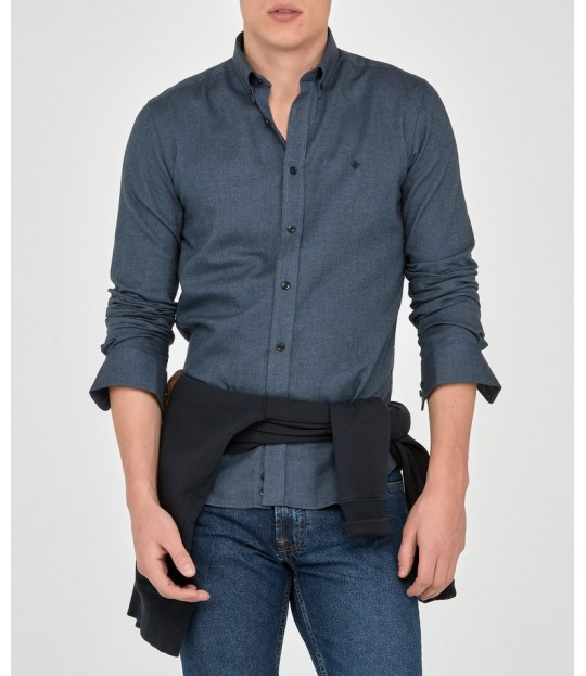 Andre Button Down Shirt Navy