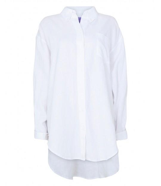 Masculin Linenshirt White