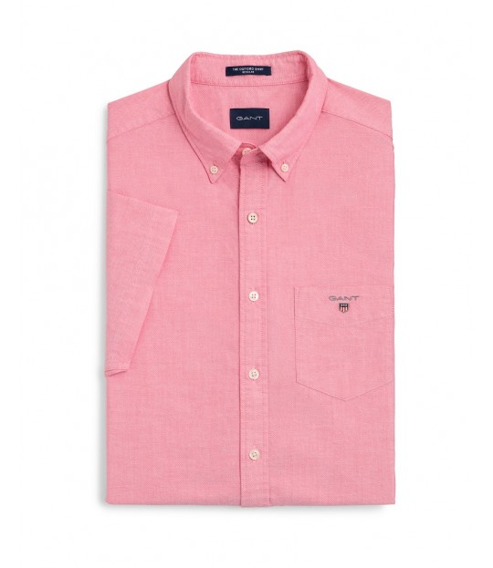 The Oxford Shirt Reg SS Red