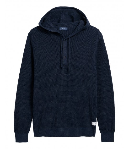 Pull Over Hoodie Navy