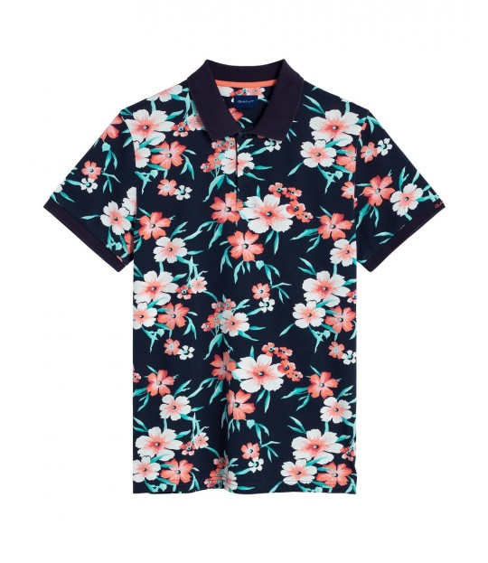 All Over Floral Pique ss