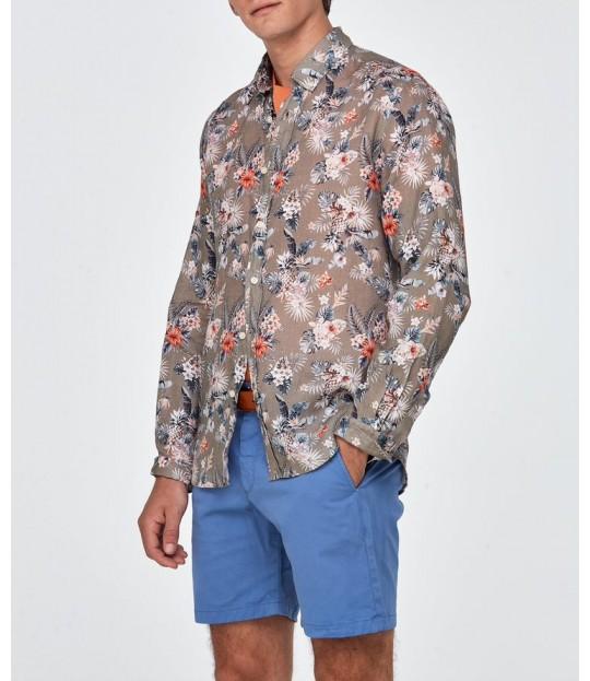 Bradley Button Down Shirt Olive