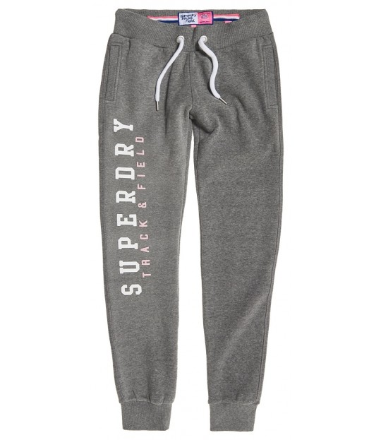 Track And Field Joggers Grey