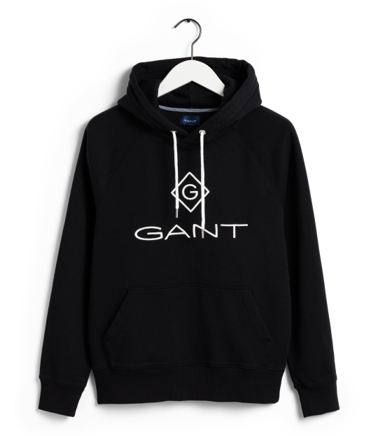 Gant Lock-Up Hoodie sort