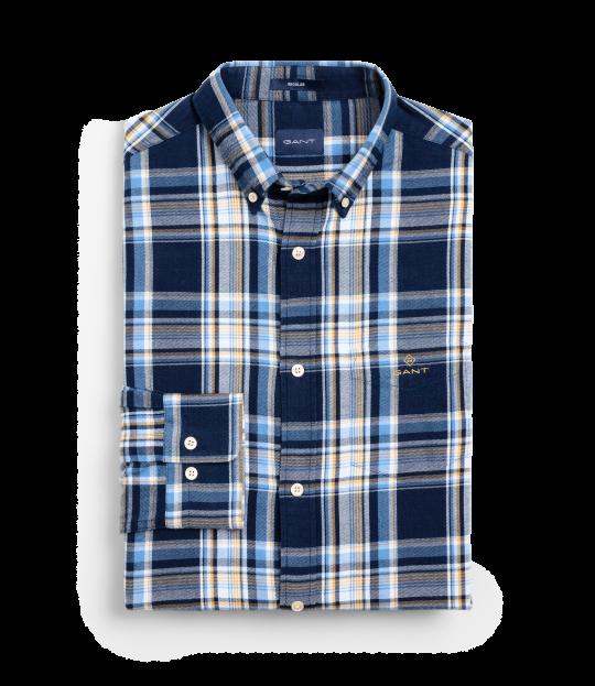 Flannel Indigo Shirt Blue