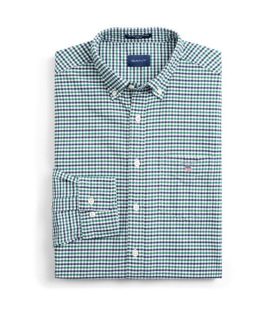 Oxford Gigham Shirt Green