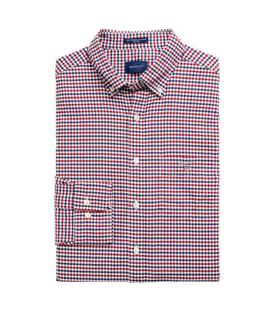 Oxford Gigham Shirt Red